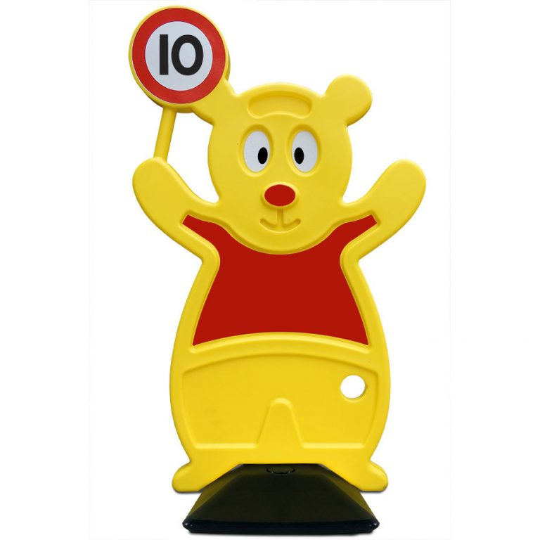 veilig verkeer beer